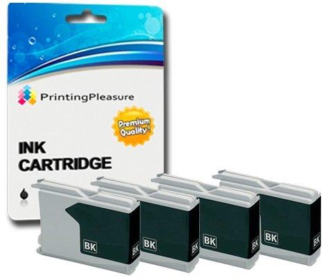 Printing Pleasure 4 SCHWARZ Druckerpatronen für Brother Bild