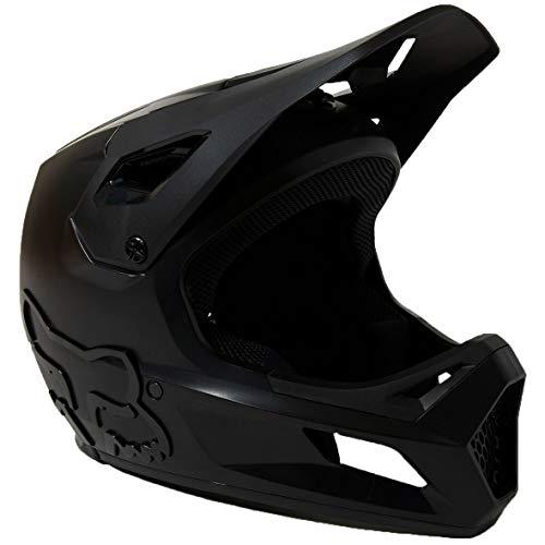 Fox Rampage Helmet, Ce Black/Black