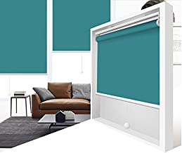 ZY Blinds Cordless Roller Shades Light Filtering Custom Made Any Size from 20-78inch Wide UV Protection Enery Saving Window Shades Blinds for Home, Hotel, Club 28