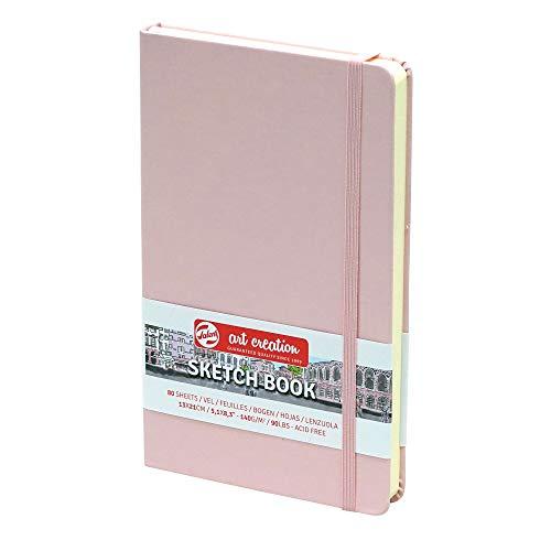 Sketchbook Royal Talens Art Creation Hardcover Skizzenbuch 80 Blatt 140gsm 13x21cm - Einband Pastellrosa