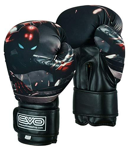 Islero Kinder-Boxhandschuhe für MMA, Gel, Muay Thai, Kampfsport, Training, 113,4 g, 170,1 g, 227,8 g