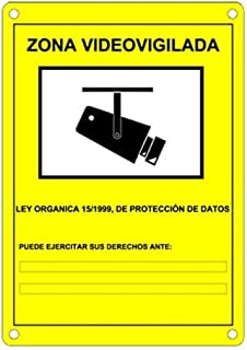 Amazon.es: cartel de alarma