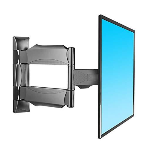 SXSHYUFC Montaje en la Pared Soporte de Pared para TV, Soporte Giratorio de Montaje para TV de Servicio Pesado para TV de 32-55 Pulgadas de hasta 31 Kg, MAX VESA 400x400 mm Fácil de Instalar