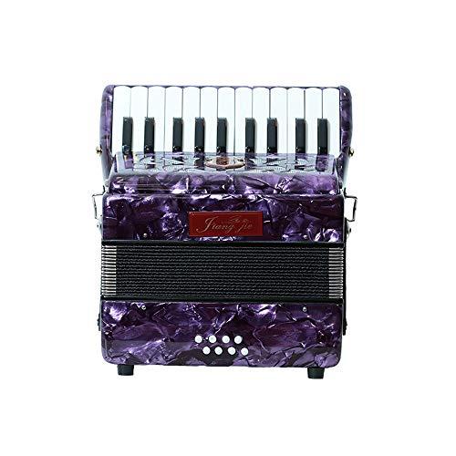 M-zutx 8 Bajo Acordeones for piano de 22 teclas for niños Instrumento de acordeón de...