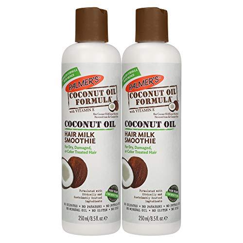 Palmer's Coconut Oil Formula Hair Milk Smoothie | 8.5 Ounces (Pack of 2)