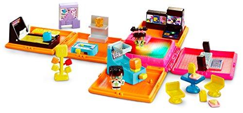 Mattel dwb70–myminimixieqs Deluxe Neon de Centro de Juegos, Accesorios
