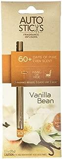 AutoSticks Vanilla Bean Air Freshener, 3 per Piece