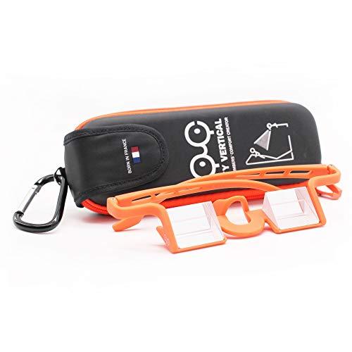 YY Vertical Belay Glasses Plasfun Evo (Orange)