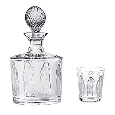 Lalique Femmes Antiques Whiskey Tumbler