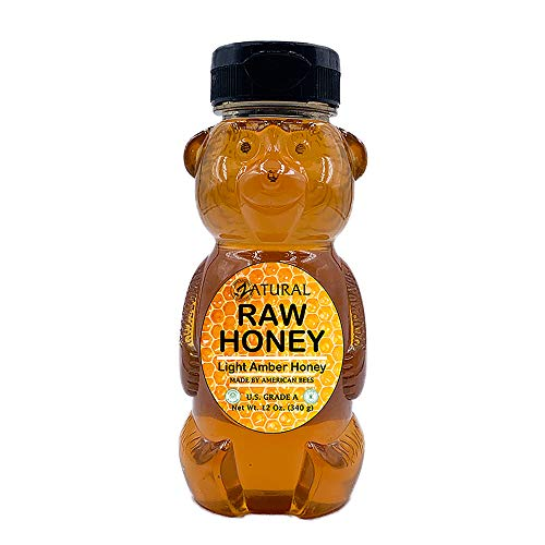 Honey Raw Fresh Air Idaho Grade A Light Amber Honey (12 Ounce)