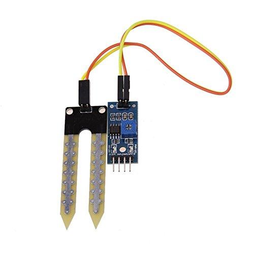 Daorier suelo la humedad módulo de Sensor de humedad higrómetro alta sensibilidad para pi, jardín granja jardín medidor de humedad