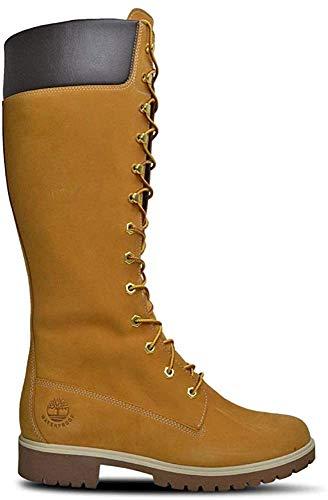 Timberland Damen Premium 14 Zoll Wasserdicht Schnürstiefel, Beige - beige - Größe: 37 EU