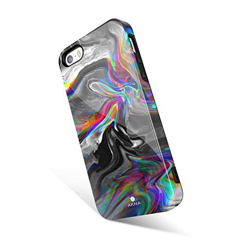 iPhone 5 / 5s /SE case for Girls, Akna Get-It-Now Collection High Impact Flexible Silicon Cover for iPhone5/5s/SE [Dreaming Marble] (1246-U.S)