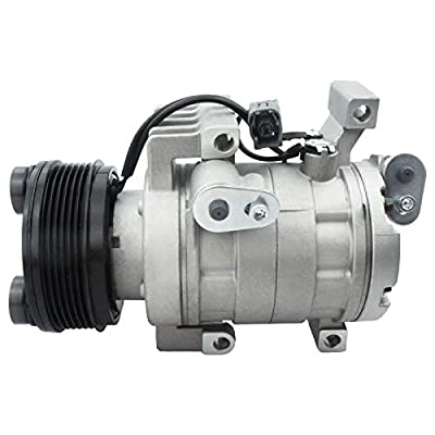 Deebior 1pc Air Conditioning AC A/C Compressor and Clutch Compatible with 2007-2008 Mazda CX-7 2.3L l4
