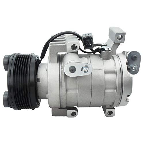 Deebior 1pc Air Conditioning AC A/C Compressor and Clutch Compatible with 2007-2008 Mazda CX-7 2.3L l4