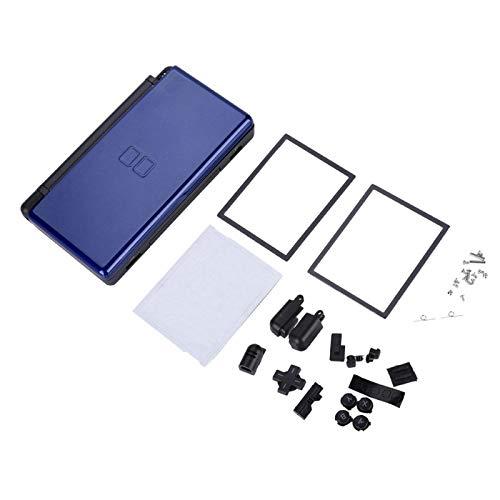 Ymiko Vollständige Ersatzteile Gehäuse für Nintendo DS Lite-Ersatzkits(Blau)