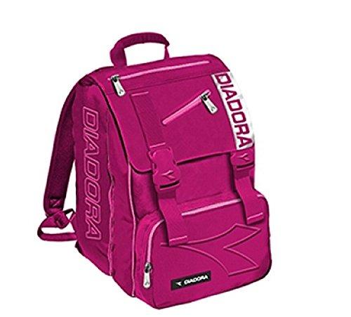 Diadora Rucksack Monocrome Pink Lady + Maxi Notebook A/4 Rigo 5