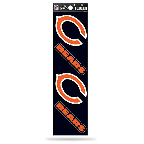 chicago bear stickers - 3