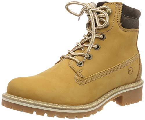 Tamaris Damen 25242-21 Combat Boots, Gelb (Corn 610), 37 EU