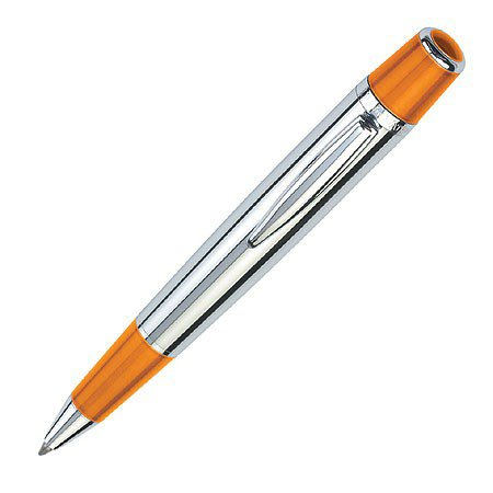 Waterford Marquis Arista Burnished Orange Polished Ballpoint Pen - WM-722PBO