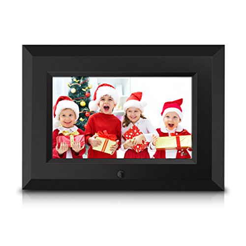 Sungale CA705 7-Inch Digital Photo Frame (Black) Camera Digital Features Frames Photo Picture