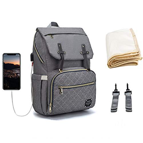 Boji Mochila para pañales de bebé, mochila para pañales con gran capacidad, multifuncional.