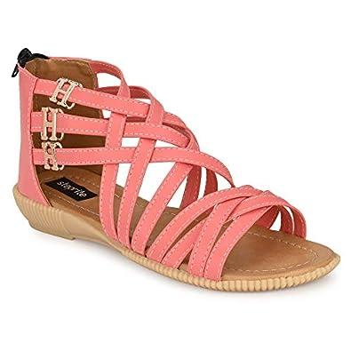 Steprite Womens Girls Gladiiator High Sandals