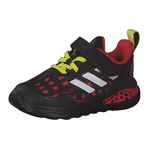 adidas Fortarun Superhero I, Zapatillas de Running, NEGBÁS/FTWBLA/Rojint, 27 EU