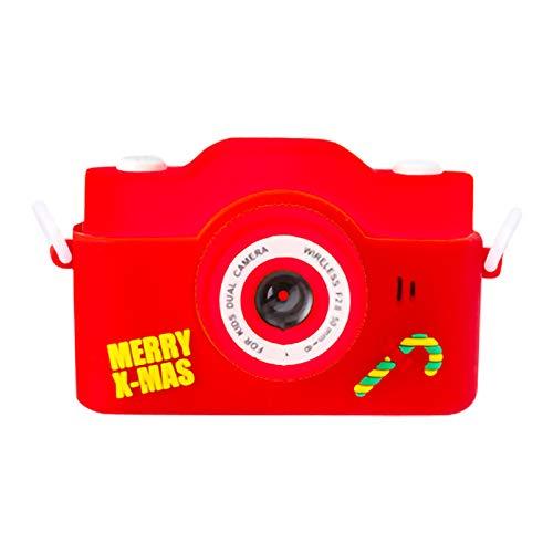 SH-RuiDu Cámara para niños, portátil DV 2 IPS Cámara para niños con pantalla grande de 32 GB TF tarjeta HD videocámara de vídeo digital para niños y niñas regalo de cumpleaños de Navidad