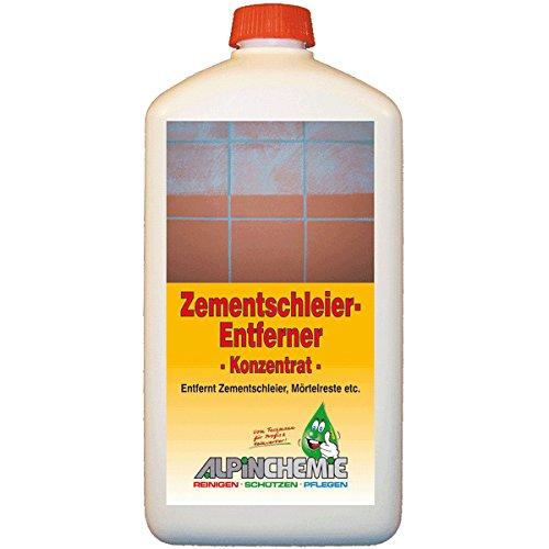 Alpin-Chemie - Zementschleierentferner für Fliesen, Feinsteinzeug, Naturstein, Granit, 1 Liter