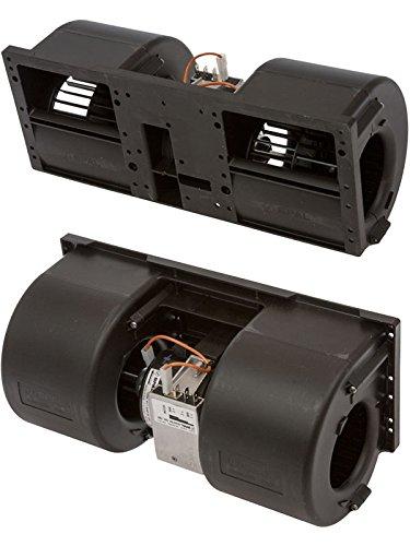 HVAC Blower Motor Assembly 12V SPAL W 3SPD RESISTOR MED PERFORMAN