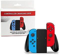 Grip Suporte Com Bateria Joy Con Nintendo Switch Carregador