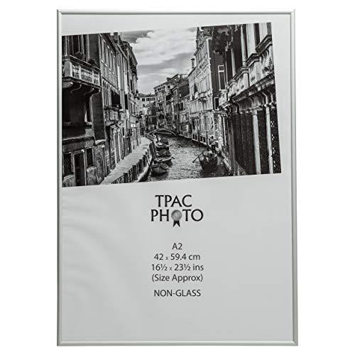 The Photo Album Company PAAFA2B Luxus Aluminium-Rahmen satiniert