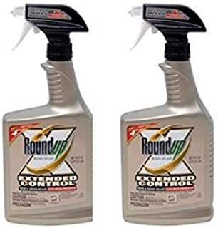 Roundup 5107300 Extended Control Weed and Grass Killer Plus Weed Preventer II Ready-to-Use Trigger Spray, 24-Ounce (2 Pack(24 oz bottles))