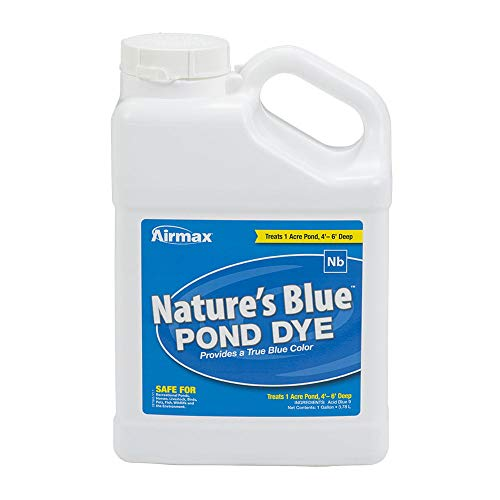AIRMAX Pond Dye Nature's Blue - 1 Gallon
