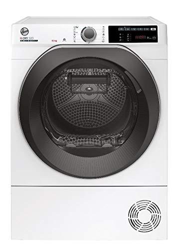 Hoover H-DRY 500 ND C10TSBE-S Kondenstrockner / 10 kg / Smarte Bedienung mit WiFi + Bluetooth / AquaVision-Kondenswasserbehälter mit optischer Füllanzeige direkt im Bullauge / Symbolblende