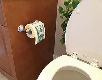 SummitLink 1 Roll $100 Hundred US Dollar Bill Toilet Paper Tissue Napkin Prank Fun Birthday Party Novelty Gift Idea