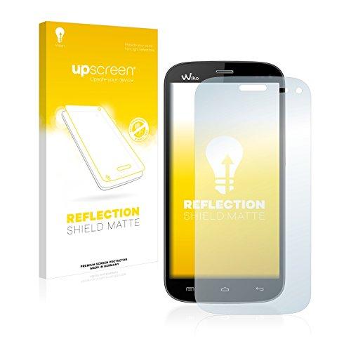 upscreen Entspiegelungs-Schutzfolie kompatibel mit Wiko Darkmoon – Anti-Reflex Bildschirmschutz-Folie Matt