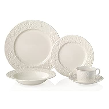 Mikasa English Countryside 5-Piece Dinnerware Set, Service for 1