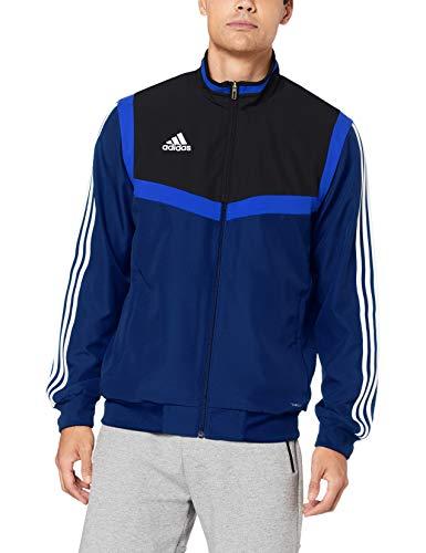 adidas Herren TIRO19 PRE JKT Sport Jacket, Dark Blue/Black/White, L