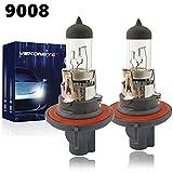 VEXONEYE 9008/H13 Halogen Headlight Bulb, 9008/H13 12V 60/55W 4300K High/Low Beam Warm White Head Lights,long life
