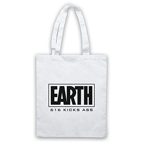 Inspirado por Marvel Comics Earth 616 Kicks Ass No Oficial Bolso