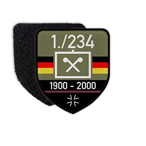 Copytec Patch BW ABCAbwBtl Veteran ABC-Abwehrtruppe Bundeswehr Abzeichen Litze #27414