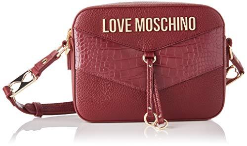 Love Moschino JC4288PP0BKP1, Borsa A Spalla Donna, Rosso, Normale