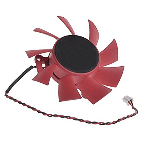 Zkee Shop 12V 0.43A 2Pin Compatible for HD 5770/5850 FD7015H12S Series Video Card Cooling Fan