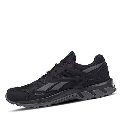 Reebok Ridgerider 5.0, Zapatillas de Trail Running Mujer, NEGRO/CDGRY6/MERLOT, 37 EU