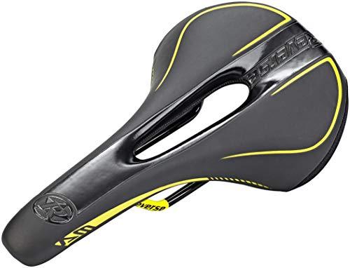 Reverse AM Ergo MTB Fahrrad Sattel schwarz/gelb