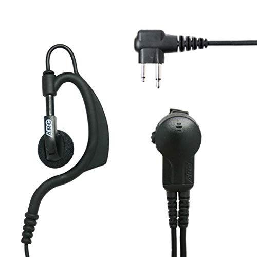 ASTRA ARC - Micrófono de Solapa para Radio Motorola con Conector de 2 Pines