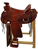 Western Sillín Orlando piel de búfalo de alta calidad nuevo Roping Sillín