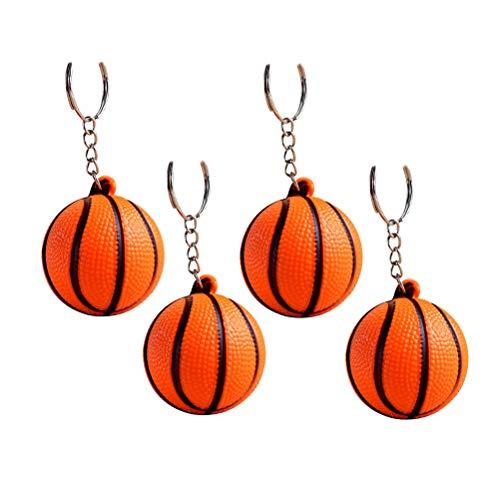 Toyvian 20 Stück Basketball schlüsselanhänger Sport schlüsselanhänger erinnerungsgeschenke für Kinder Party Favors Supplies